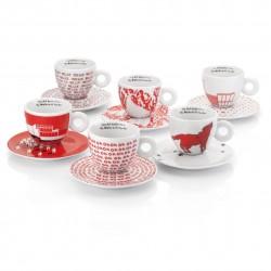 Дизайнерски еспресо чаши  illy WATERMILL