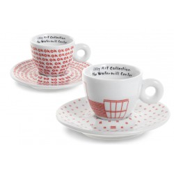 illy WATERMILL 2014 - Сет от 2 дизайнерски капучино чаши